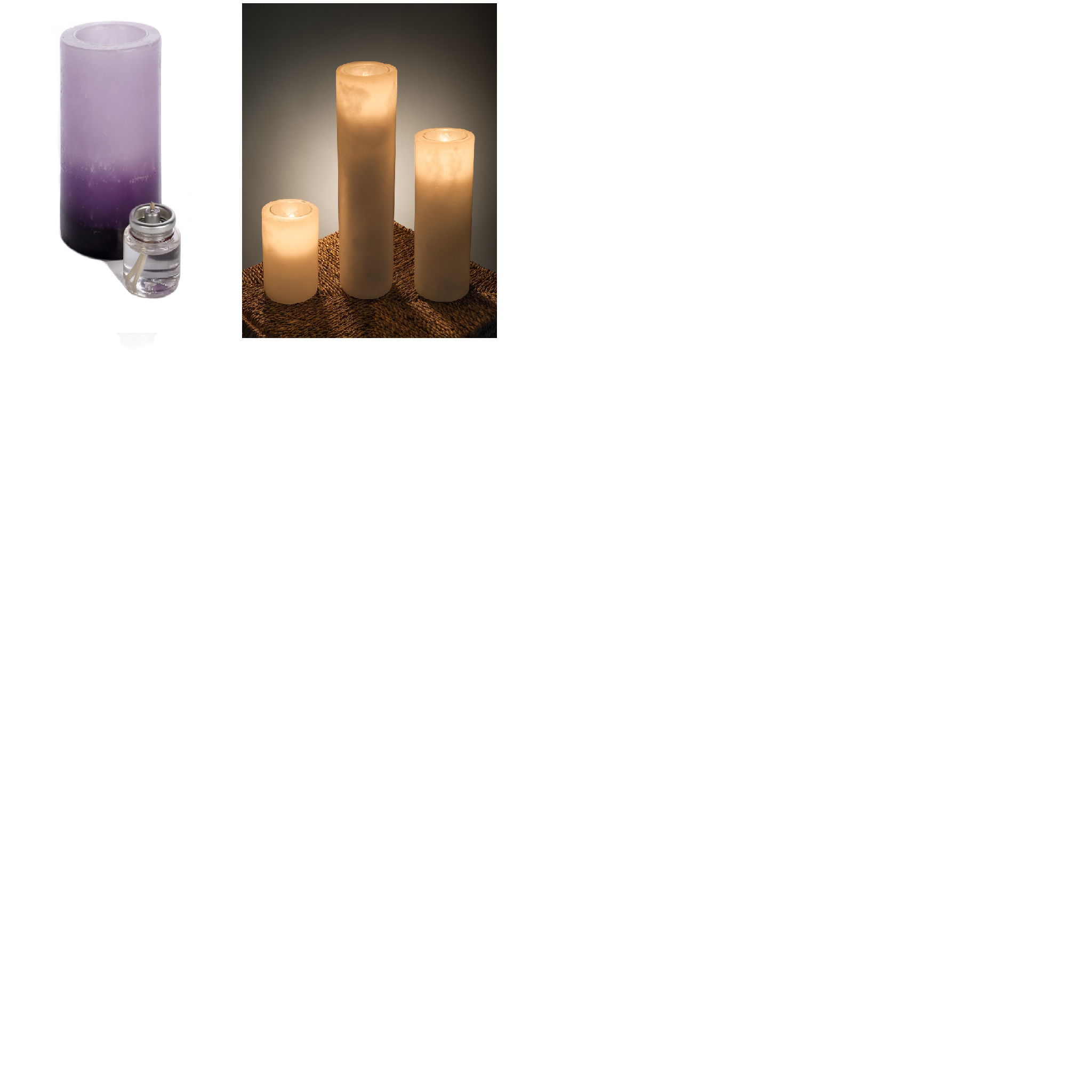 Luminary Triple Color Purple - 3x3