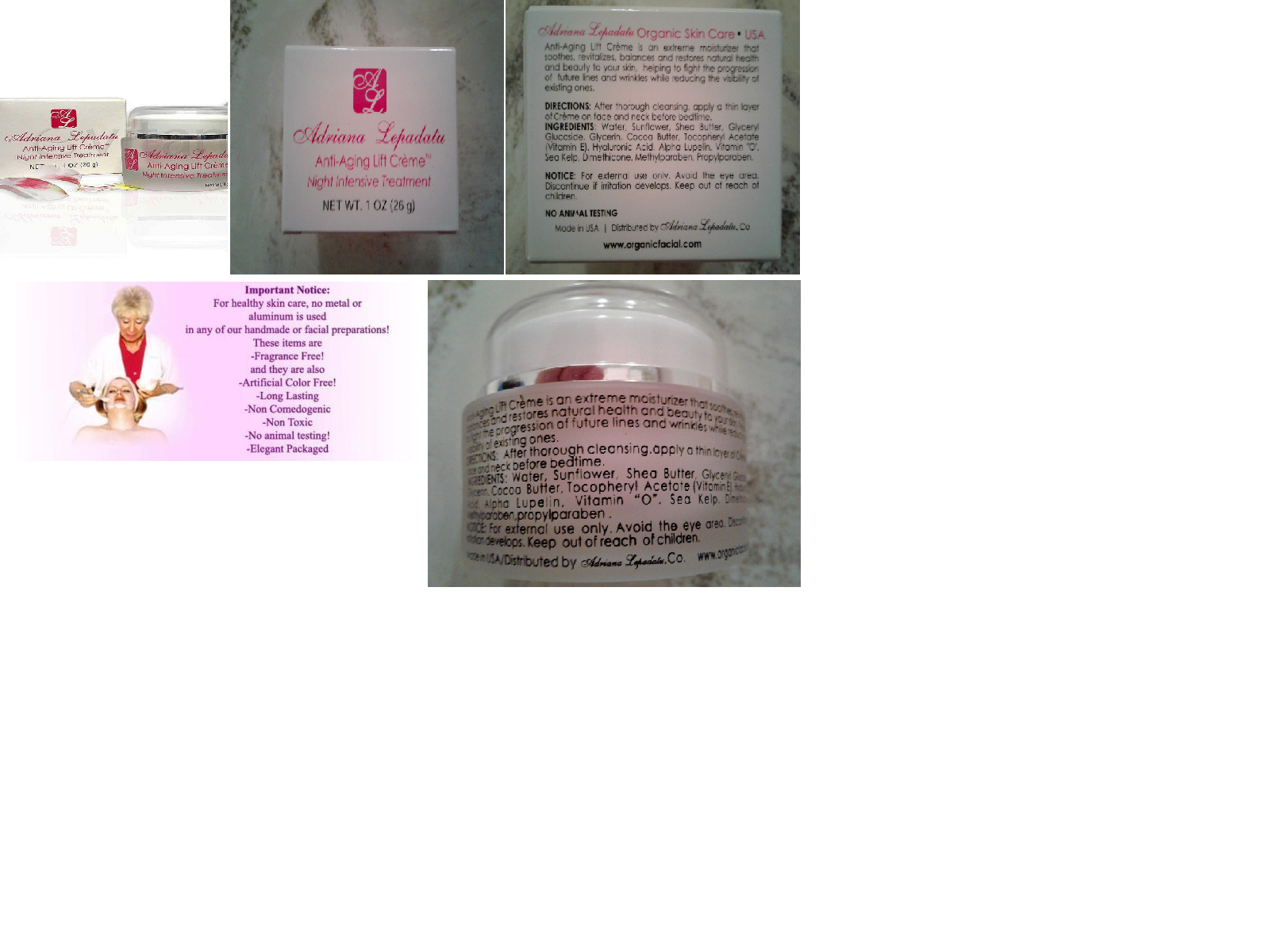 Anti Aging Skin Care, Hydrating Cream, Face Cream, Anti Wrinkle